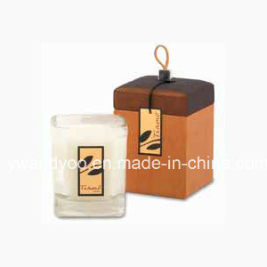 Decorative Scented Soy Glass Candle in Gift Box pictures & photos