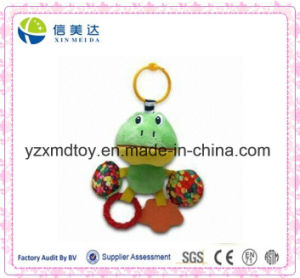 Lovely Green Frog Printing Colorful Candy Teether Toy pictures & photos