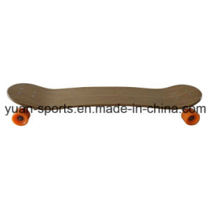 High Quality Bamboo Veneer Skateboard pictures & photos