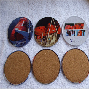 Promotion Gift Tin Coaster/Round Tin Coaster Set pictures & photos