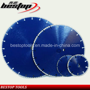 Vacuum Brazed Diamond Cutting Disc for Concrete and Masonry pictures & photos