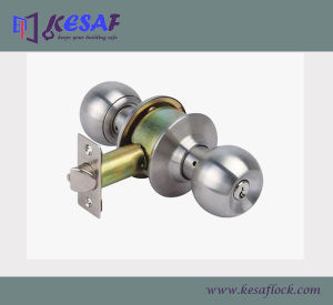 ANSI Grade 3 Residential Cylindrical Door Knob Lock (3871SS)