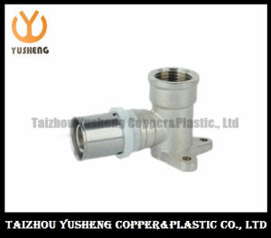 Female Forged Brass and Stainless Steel Press Pipe Fittings (YS3212)