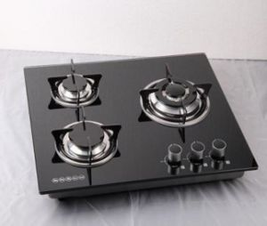 Tempered Glass Cooking Gas Stove with Sabaf Burner pictures & photos