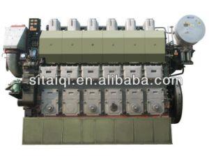 Zibo Zichai 6n330 Series Marine Diesel Engine (2207KW-2507KW) pictures & photos