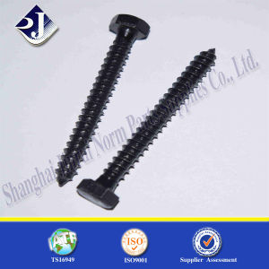 DIN571 Fastener Bolt Wood Screw (Hex Head) pictures & photos