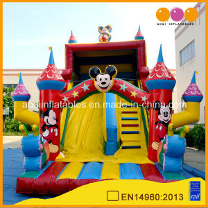 Children Inflatable Monkey Slide Bouner (aq1119) pictures & photos