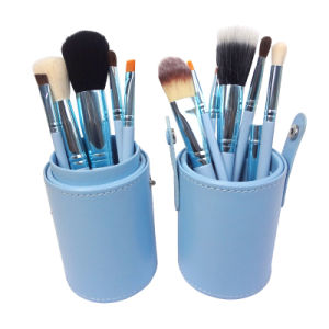 High Quality Beauty Tool Makeup Cosmetic Brush Set with Cup Holder pictures & photos