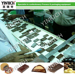 Chocolate Maker One Shot Chocolate Depositing Line Chocolate Machine Chocolate Production Line Chocolate Making Machine (QJ150) pictures & photos