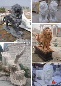 Natural Granite Carved Stone Sculpture for Garden Ornament pictures & photos