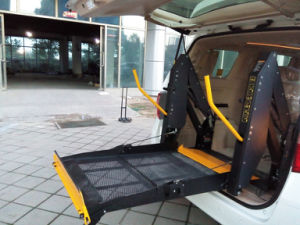 Ce Wheelchair Lift Electric Disabled Elevator for Van with 350kg Loading (WL-D-880/880U/880S) pictures & photos
