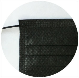 Disposable Non Woven Face Mask of Ties on for Europe 3 pictures & photos