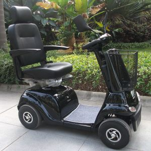CE Approve Four Wheel Electric Handicapped Scooter (DL24500-2) pictures & photos