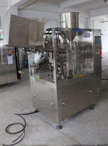 Cosmetic Cream Tube Filling and Sealing Machine (HGF-40) pictures & photos