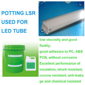 2 Components RTV Silikon Rubber Condensed Silicone Sealant Potting LSR pictures & photos