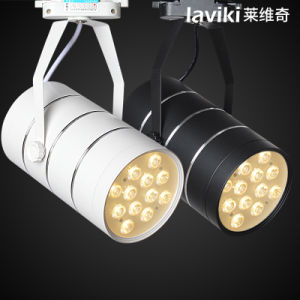 Rail and Surface Mountedled Track Light with 3-18W