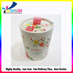 Popular Style Cosmetic Tube Packaging OEM Gift Cylinder Paper Box pictures & photos