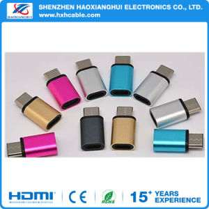 Wholesale Type C Adapter Aluminum Alloy Conversion Type C Adapter pictures & photos