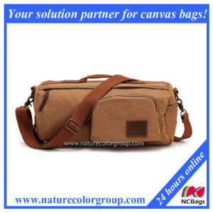 Funtional Canvas Messenger Bag for Men (MSB-010) pictures & photos