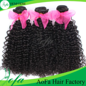High Quality 7A Virgin Remy Human Hair for Kinky Curly pictures & photos