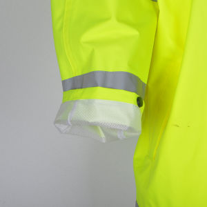 Wholesale Waterproof Protective Workwear Reflective Rain Suit pictures & photos