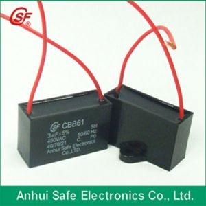 Box Type Run Capacitor Cbb61 pictures & photos