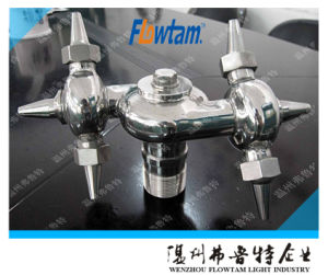 Sanitary Stainless Steel Bolted Rotary Tank Cleaning Ball pictures & photos