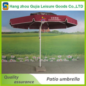 Outdoor Advertisement Offset Sun Shade Beach Patio Umbrella