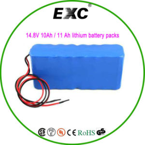 18650-5 P4s 14.8V 10ah / 11 Ah Lithium Battery Packs pictures & photos
