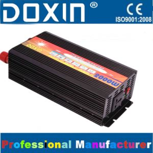 2000W car voltage inverter solar panel inverter DC AC power supply inverter pictures & photos