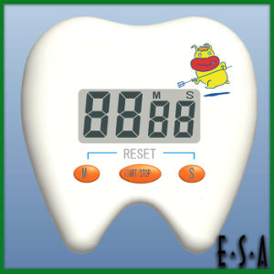 Tooth Shaped Mechanical Timer, Tooth Shape Digital Countdown Timer, Mini Cute Kithcen Timer G20b154 pictures & photos