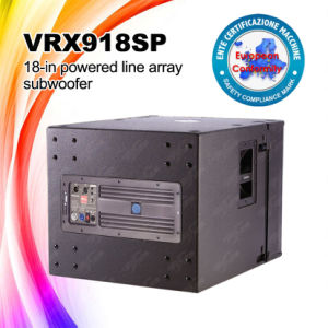 Vrx918sp Active Line Array Powered Subwoofer pictures & photos
