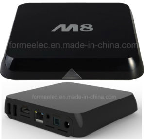 Android TV Box M8 S812 Quad-Core 2GB8GB Bt 4k Smart TV Box pictures & photos