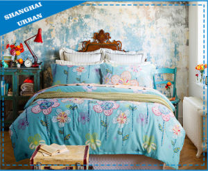 Spring Floral Cotton Duvet Cover Bedding Set pictures & photos