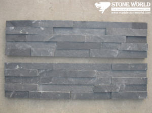 Black Slate Ledgestone for Wall Panel (CS036) pictures & photos