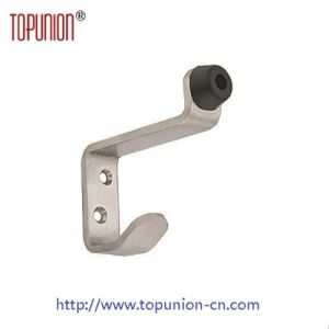Wall Mounted Door Stopper with Rubber (DS005) pictures & photos
