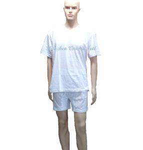 Pure White Traing Suit /Underwear Set/Track Suit pictures & photos