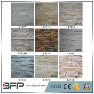 Natural Stone Slate Ledge Stone Panels for Wall Cladding pictures & photos