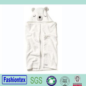 Toddler Beach Towel Baby Bath Cloth Baby Bear Hooded Towel pictures & photos