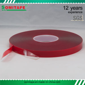Somi Tape Sh368 Strong Adhesion Vhb Acrylic Foam Double Sided Tape/Acrylic Adhesive Tape for Outdoor Adverting Fixing pictures & photos
