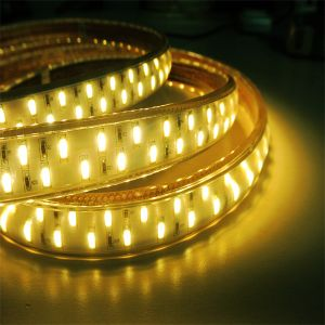 Outdoor 110V LED Strip Light SMD5630 50-55lm/LED Double Line 120LED/M pictures & photos