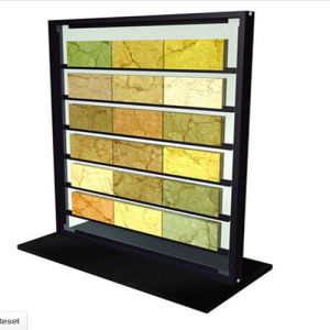 Tile Display Shelf Metal Display Rack pictures & photos