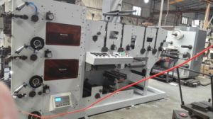 Flexo Printing Machine with Die Cutting Station 3 Color pictures & photos
