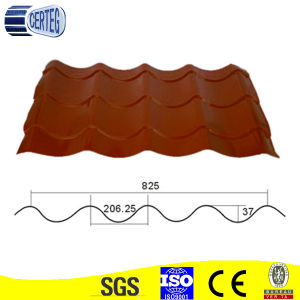 China colorful metal roof tile pictures & photos