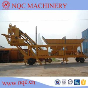 Yhzs 25/35/50 Mobile Concrete Batching Plant pictures & photos