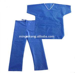 Disposable PP Non Woven or Spunlace Scrub Suit pictures & photos