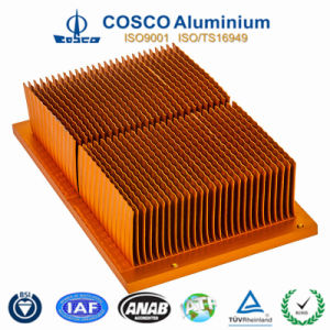Aluminum/Aluminium Skiving Heat Sink for Refrigeration Appliance pictures & photos