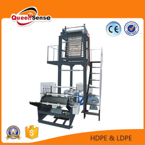 Single Layer 1m HDPE /LDPE/LLDPE T Shirt Film Blowing Machine pictures & photos