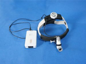 3W LED Medical Surgical Headlight with DC Power Supply pictures & photos