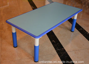 Fire-Proof Material Kindergarten Desk&Chair, Kids Desk pictures & photos